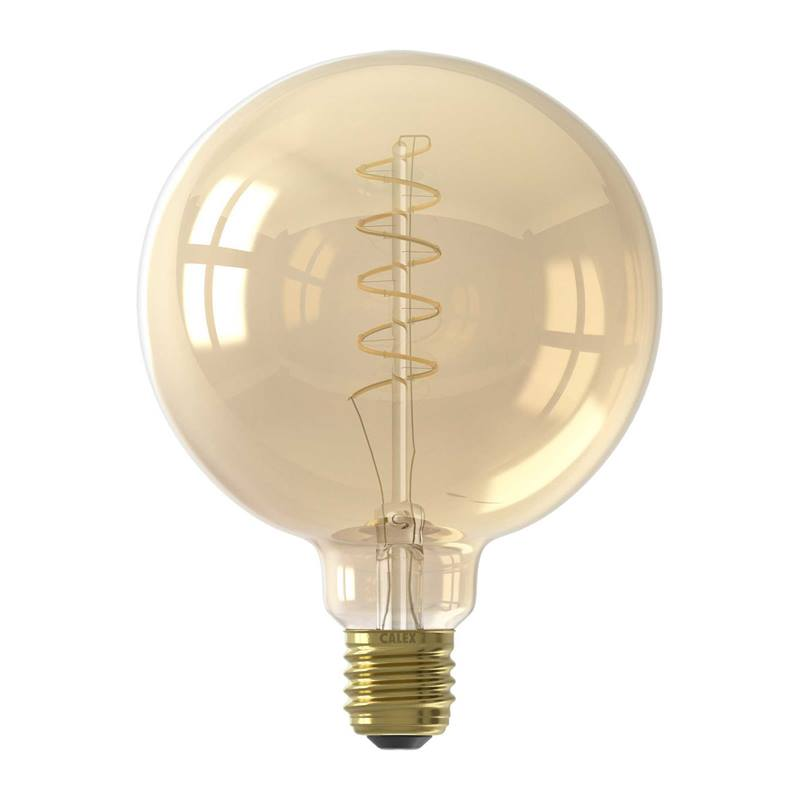 Led Filament Globe Dimbaar Warm Wit