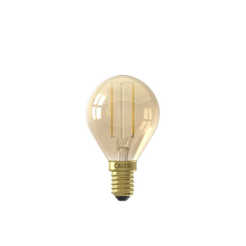 Led Kogel Dimbaar E14 Goud
